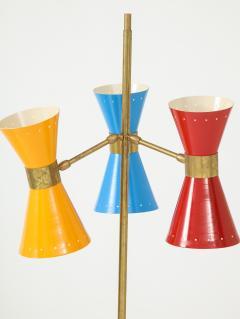Arteluce Three lights floor lamp by Arteluce Italy 1950s - 998162