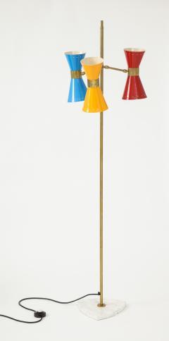 Arteluce Three lights floor lamp by Arteluce Italy 1950s - 998165