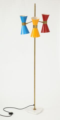 Arteluce Three lights floor lamp by Arteluce Italy 1950s - 998167