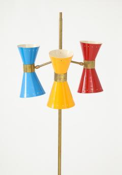 Arteluce Three lights floor lamp by Arteluce Italy 1950s - 998168