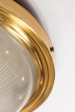 Artemide 1960s Sergio Mazza Brass and Glass Wall or Ceiling Light for Artemide - 911612