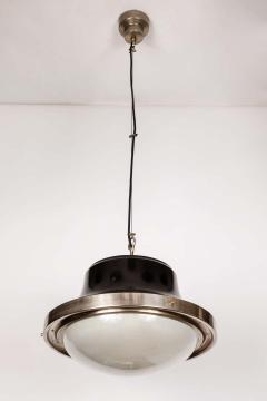 Artemide 1960s Sergio Mazza Tau Nickeled Brass Pendant for Artemide - 1637079