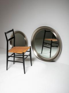 Artemide Pair of Narcisso Wall Mirrors by Sergio Mazza for Artemide - 956637