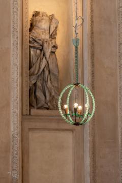 Artisti Barovier Barovier Green Hand Blown Murano Glass Chandelier - 1616574