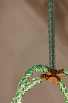 Artisti Barovier Barovier Green Hand Blown Murano Glass Chandelier - 1616587