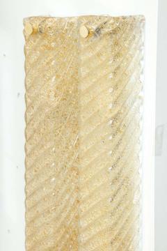 Artisti Barovier Barovier Murano Glass Rectangular Sconce - 1505490