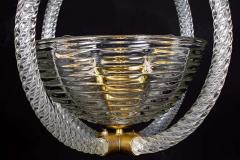 Artisti Barovier Italian Art Deco Lantern by Barovier 1940 - 1567782