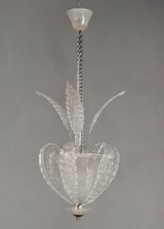 Artisti Barovier Very Chic Murano Glass Fixture Attributed to Barovier - 1534053