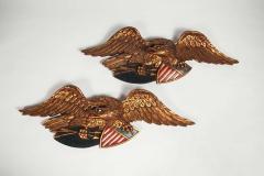 Artistic Carving Company Boston MA Pair of American Patriotic Eagles Artistic Carving Company Boston MA - 950951
