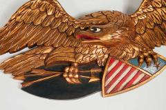Artistic Carving Company Boston MA Pair of American Patriotic Eagles Artistic Carving Company Boston MA - 950952