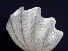 Asea Pair of Shell Shaped Coquille Wall Lamps by ASEA Skandia Sweden 1940s - 940253