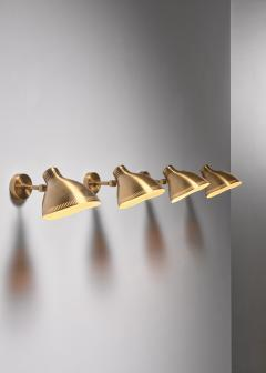 Asea Set of 4 brass ASEA wall lamps - 1830362