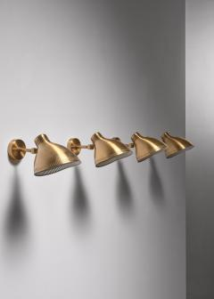 Asea Set of 4 brass ASEA wall lamps - 1830363