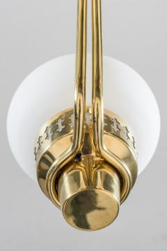 Asea Swedish Chandelier in Brass and Opaline Glass ASEA - 848997