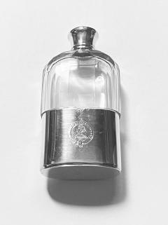 Asprey Asprey English hallmarked Silver hip flask London 1867 - 2001939