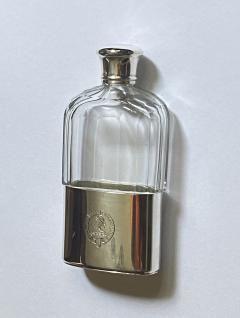 Asprey Asprey English hallmarked Silver hip flask London 1867 - 2001940
