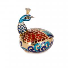 Asprey Faberg style bejewelled and enamelled gold egg by Asprey - 1290607
