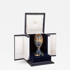 Asprey Faberg style bejewelled and enamelled gold egg by Asprey - 1291744