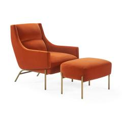Atelier Purcell Vista Lounge Chair - 1868456