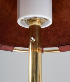Atelje Lyktan Floor Lamps in Brass and Leather Model Anna by Anna Ehrner for Atelj Lyktan - 1433850