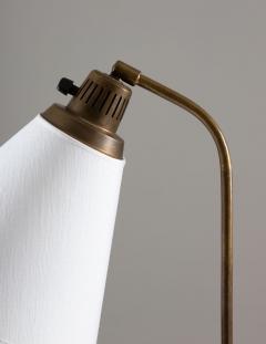 Atelje Lyktan Midcentury Floor Lamp by Hans Bergstr m for Atelj Lyktan 1940s Sweden - 1690166
