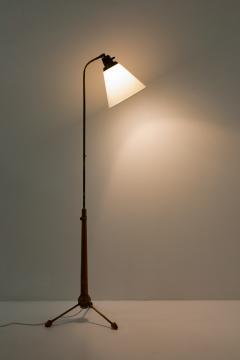 Atelje Lyktan Midcentury Floor Lamp by Hans Bergstr m for Atelj Lyktan 1940s Sweden - 1690173