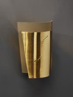 Atelje Lyktan Set of Atelje Lyktan Brushed Brass S Wall Sconces - 1706916