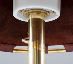 Atelje Lyktan Table Lamp in Brass and Leather Model Anna by Anna Ehrner for Atelj Lyktan - 1433839