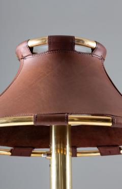 Atelje Lyktan Table Lamp in Brass and Leather Model Anna by Anna Ehrner for Atelj Lyktan - 1433842
