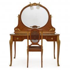 Au Gros Ch ne Antique Parisian Neoclassical Style Dressing Table Set by Au Gros Ch ne - 2013540