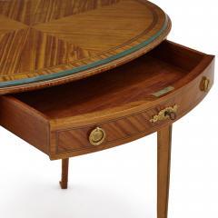 Au Gros Ch ne Antique Parisian Neoclassical Style Side Table by Au Gros Ch ne - 2013522