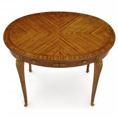 Au Gros Ch ne Antique Parisian Neoclassical Style Side Table by Au Gros Ch ne - 2013526