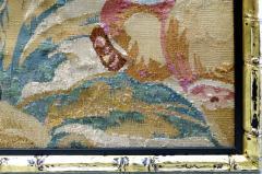 Aubusson 18th Century Floral Aubusson Panels Set of Three - 523432