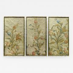 Aubusson 18th Century Floral Aubusson Panels Set of Three - 524725