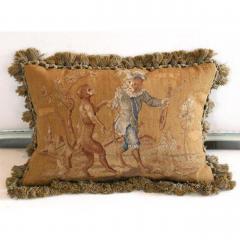 Aubusson Dancing Monkeys Aubusson Pillow - 1362541