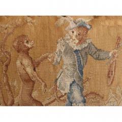Aubusson Dancing Monkeys Aubusson Pillow - 1362542