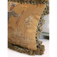 Aubusson Dancing Monkeys Aubusson Pillow - 1362543