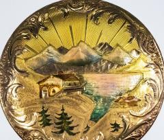 Audemars Piguet Audemars Piguet Pocket Rare 1880s Large Mens 42mm Double Enamel - 1205499