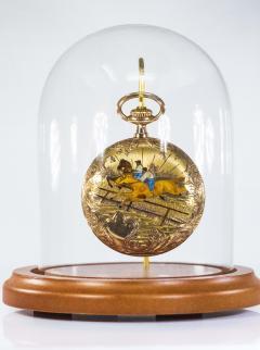 Audemars Piguet Audemars Piguet Pocket Rare 1880s Large Mens 42mm Double Enamel - 1205500