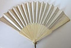Auguste Lauronce Hand Held 19th Century Fan Signed Aug Lauronce French Circa 1885 - 677473
