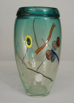 Aureliano Toso Italian 1970s Murano Glass Vase - 478648