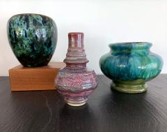 Awaji Pottery An Early Japanese Awaji Pottery Vase Meiji Period - 1041735