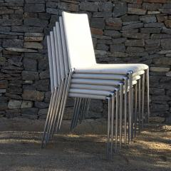 B B Italia B B Italia Roberto Barbieri Modern Flexibility ALMA Stackable Dining Chairs - 1772792