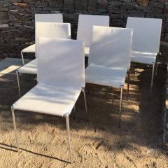 B B Italia B B Italia Roberto Barbieri Modern Flexibility ALMA Stackable Dining Chairs - 1772793