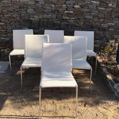 B B Italia B B Italia Roberto Barbieri Modern Flexibility ALMA Stackable Dining Chairs - 1772794