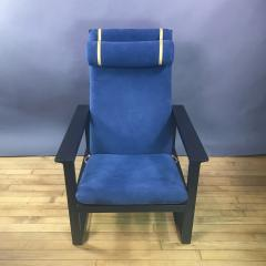 B rge Mogensen Borge Mogensen B rge Mogensen Model 2254 Ebonized Sled Chair Denmark - 1747502