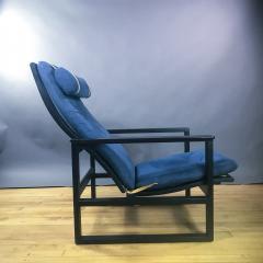 B rge Mogensen Borge Mogensen B rge Mogensen Model 2254 Ebonized Sled Chair Denmark - 1747503