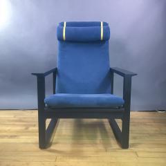 B rge Mogensen Borge Mogensen B rge Mogensen Model 2254 Ebonized Sled Chair Denmark - 1747505