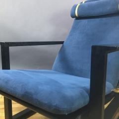 B rge Mogensen Borge Mogensen B rge Mogensen Model 2254 Ebonized Sled Chair Denmark - 1747508