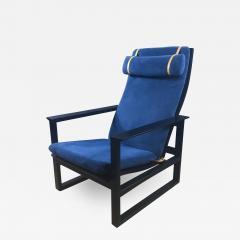 B rge Mogensen Borge Mogensen B rge Mogensen Model 2254 Ebonized Sled Chair Denmark - 1756963